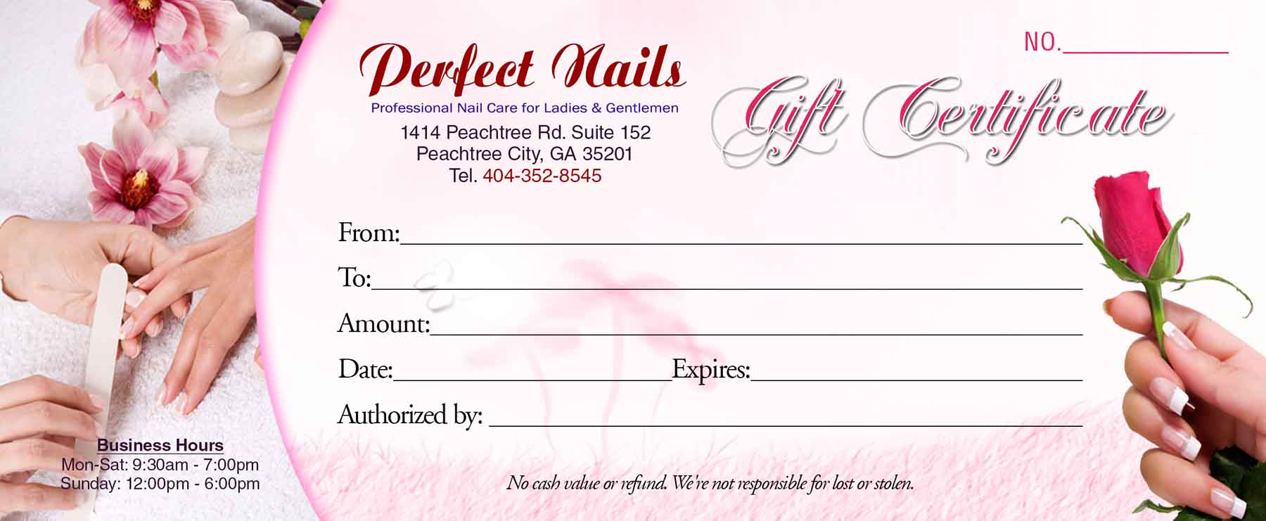 Gift certificates templates vn printing template gc2 enlage yelopaper Choice Image