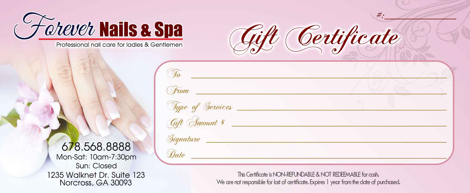 Gift certificates templates vn printing template gc15 enlage yelopaper Image collections