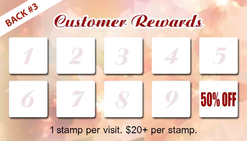 reward cards templates vn printing